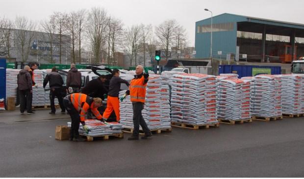 Een eerdere editie van de compostdag in Amstelveen. Amste;veen.
