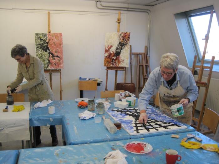schilderen als Armando tgv 75 jaar vrijheid