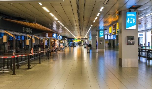 <p>Schiphol Airport 'Ghost Town' tijdens de Corona virus</p>