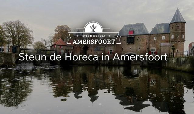 Op de website steun-horeca-amersfoort.nl bieden horecaondernemers hun diensten aan.