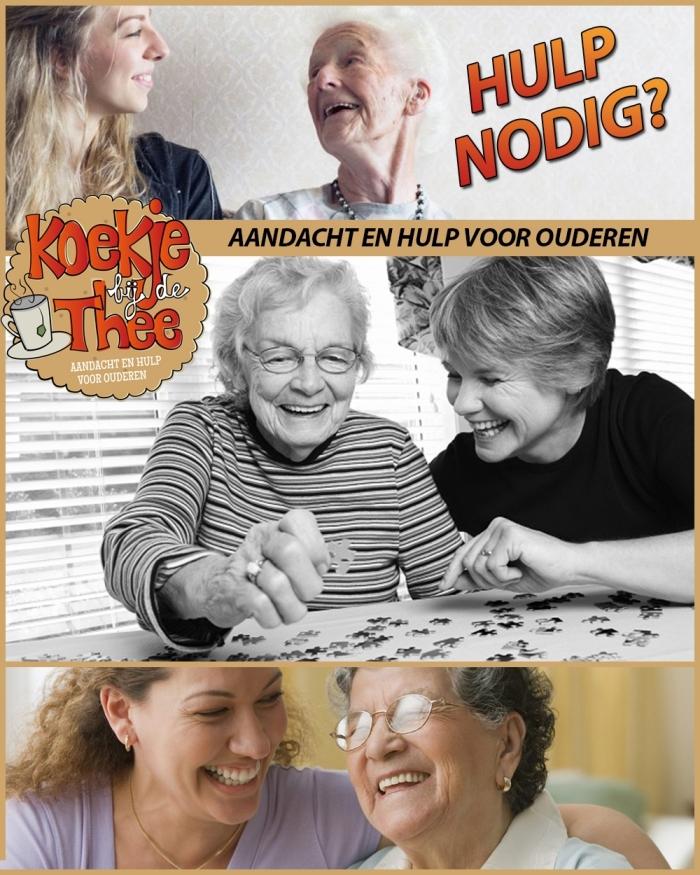 Koekje bij de Thee biedt ouderen extra ondersteuning