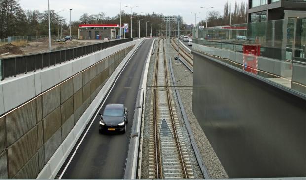 <p>De Beneluxbaan ter hoogte van Kronenburg.</p>