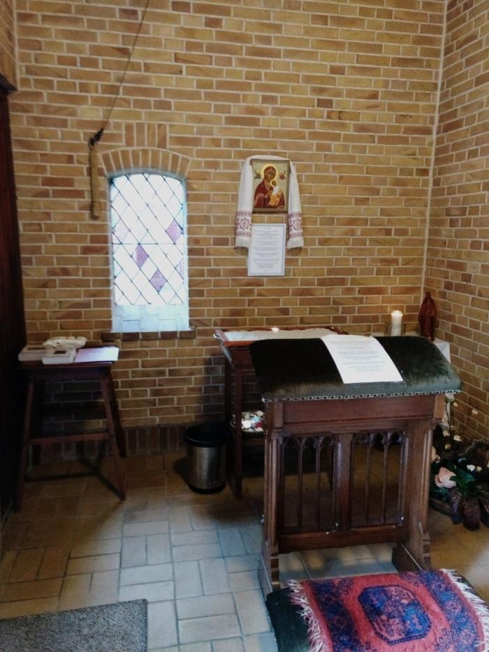 kapel in de hal