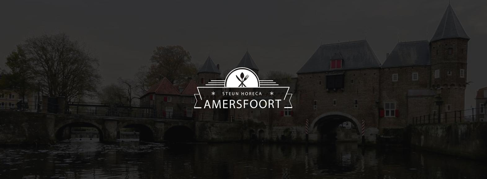 Het logo van Steun Horeca Amersfoort