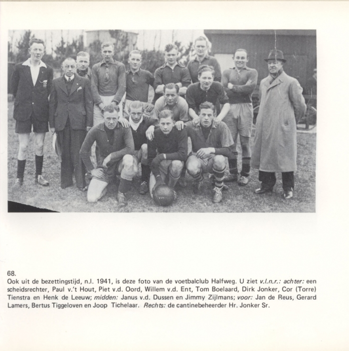 Voetbalclub Halfweg 1941