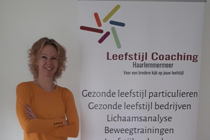 Ilona van Pelt, leefstijlcoach Haarlemmermeer
