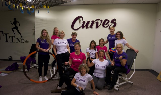 Bij Curves zijn vrouwen van elke leeftijd welkom.