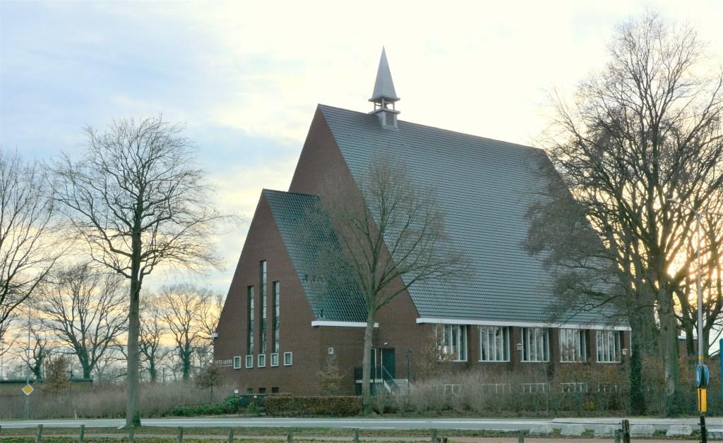 De Petrakerk aan de Lunterseweg van de Gereformeerde Gemeente in Ede.  Gerwin van Luttikhuizen © BDU Media