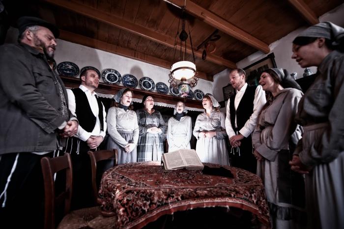 Foto van de familie in de opkamer Anke Rijksen © BDU media
