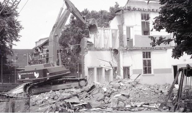 De Moerbergschool werd gesloopt in 1967.