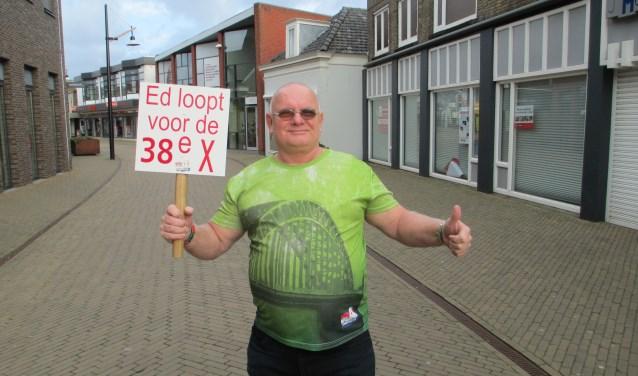 Ed Grootveld komt graag in contact met Sliedrechters die ook meelopen met de Nijmeegse Vierdaagse. Belangstellenden kunnen zich aanmelden via de redactie van deze krant.