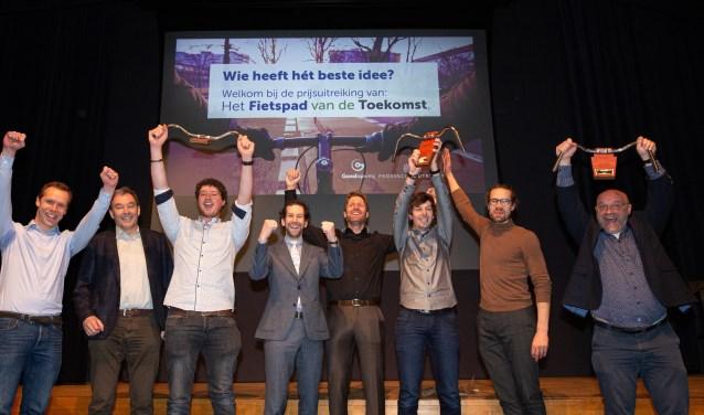Winnaars van prijsvraag Het Fietspad van de Toekomst