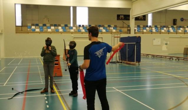 Archery Tag in de Breehoek.