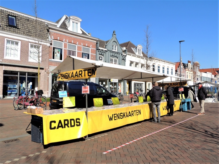 Weekmarkt Hans Blomvliet © BDU