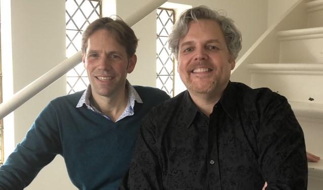 Hans Pieter Herman en Bas Verheijden weten elkaar te vinden in hun muziekwereld.