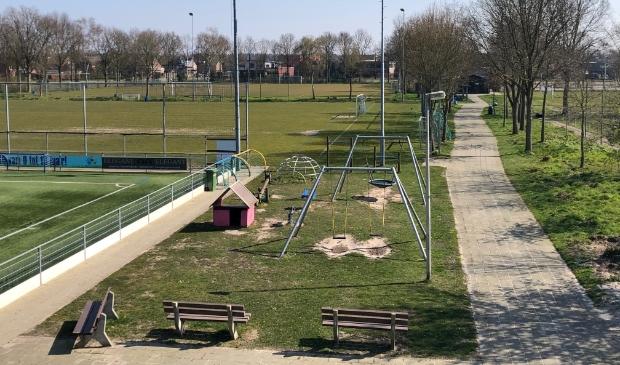 <p>Een deel van het sportpark van SDC Putten.</p>