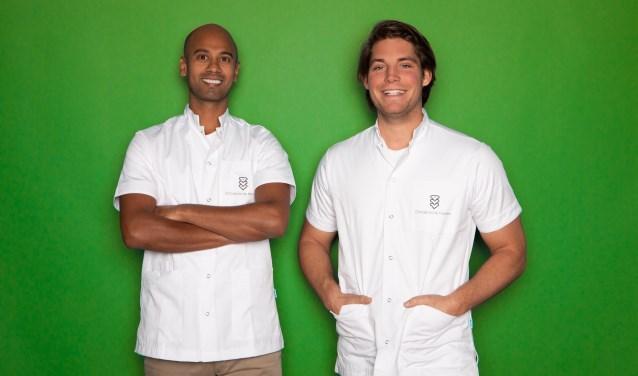 Shareev Sewradj en Bob Gregoire van Chiropractie Houten