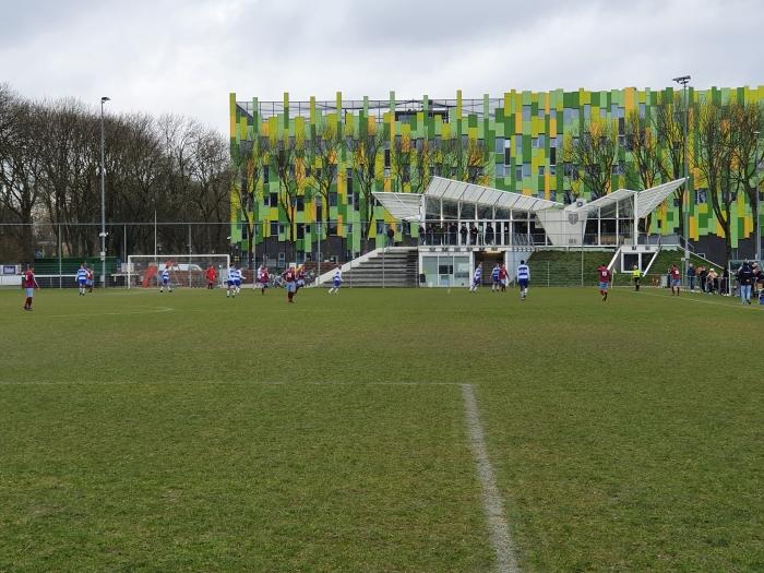 Sportpark Welgelegen doet z'n naam eer aan.