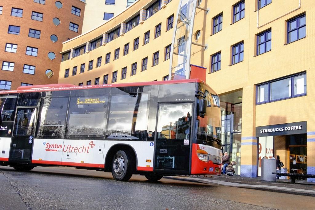 Als het aan het College ligt zal in Amersfoort na het verlenen van een nieuwe vervoersconcessie een deel van de bussen op waterstof rijden.  Cees Wouda © BDU media