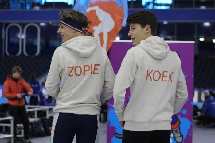 Team Koek & Zopie: Mats en Ward Erik de Weerd © BDU media