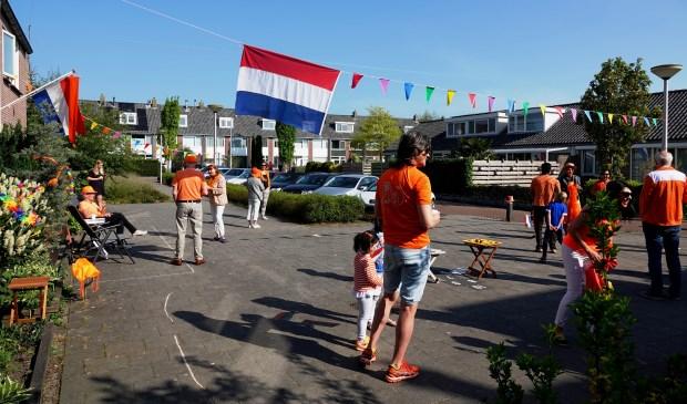 Koningsdag Jan Bulthuisstraat.