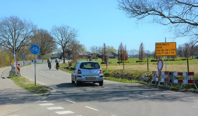 Vanaf a.s Maandag 6 April zal de Hessenweg vanaf de Klettersteeg richting Barneveld worden afgesloten Gerwin van Luttikhuizen © BDU media