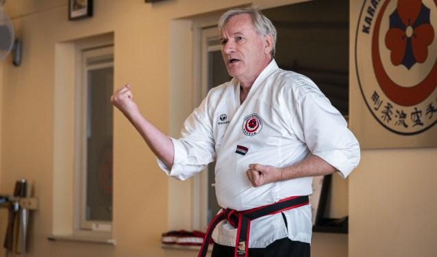 Hans Cleton: ,,Online karateles geven werkt perfect.''