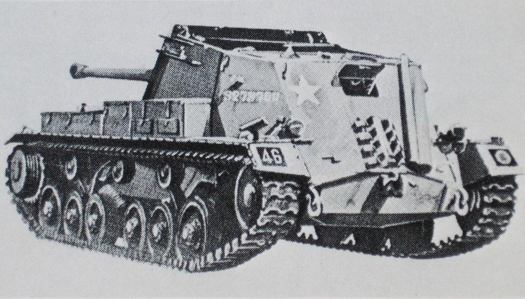 'Archer' SP-kanon op chassis Valentinetank. Achterstevoren aangebracht. Collectie Evert van de Weerd. © BDU Media