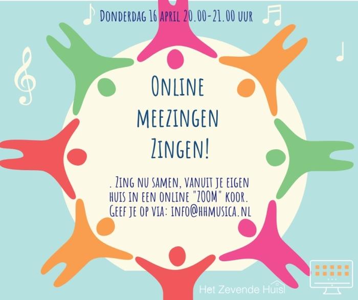 poster online meezingen