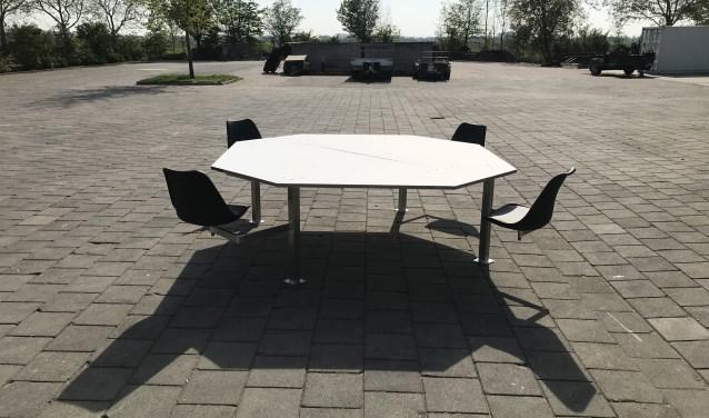 Een afstandtafel