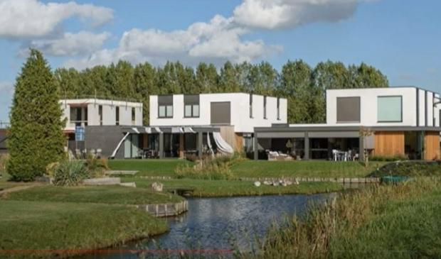 In de wijk Hoog Dalem worden in totaal zo'n 1400 woningen gebouwd