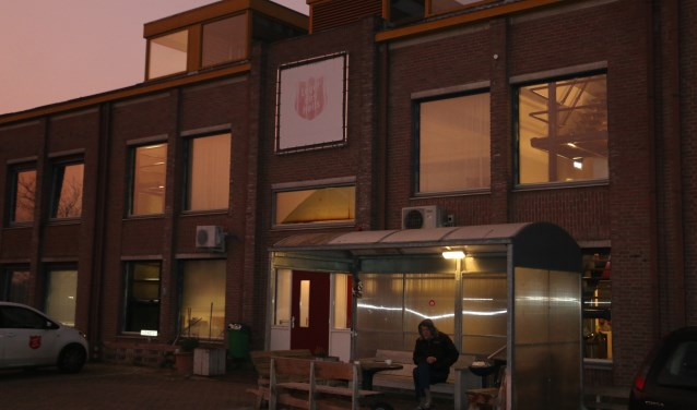 Het sociaal pension van het Leger des Heils aan de Nieuwe Kazernelaan in Ede.