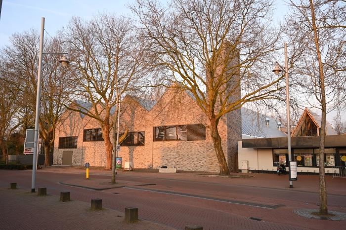 vooraanzicht nieuw dorpshuis Peter Vreeswijk © BDU media