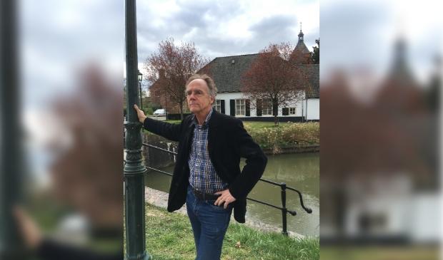 <p>Paul Heijmerink bij de Kromme Rijn</p>