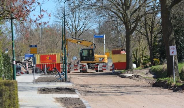 De huidige situatie van de Hessenweg iets voorbij de Klettersteeg Gerwin van Luttikhuizen © BDU media