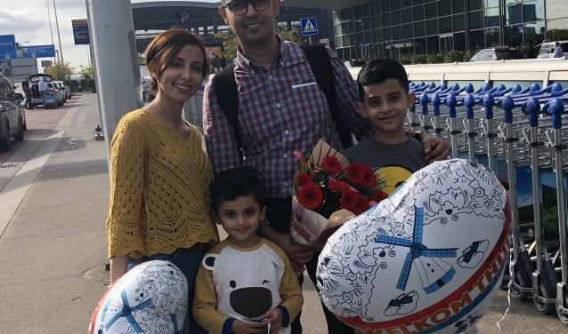 Zina en haar gezin