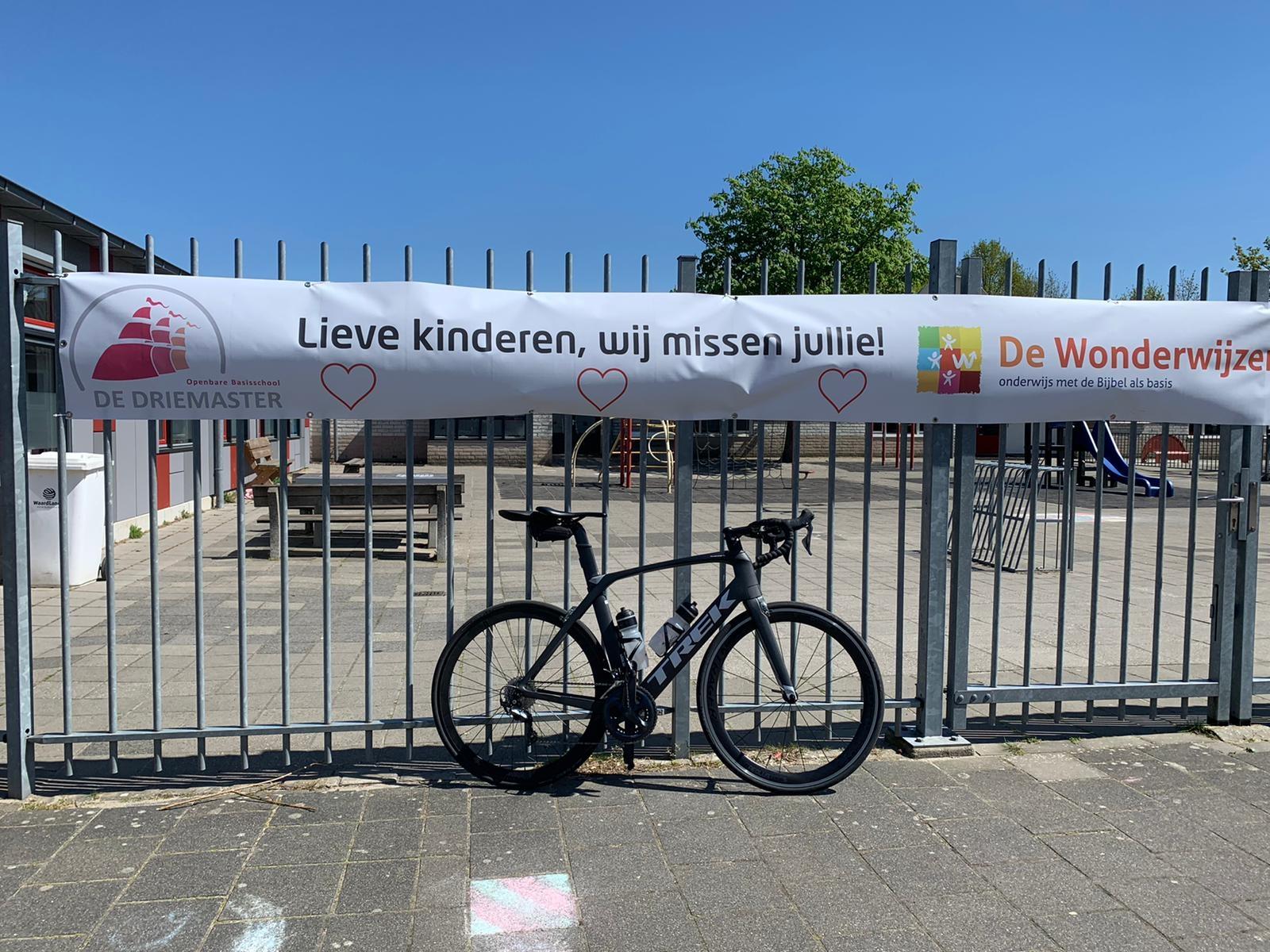 En tot slot even bij school langs. Pier Anne Nawijn © BDU media