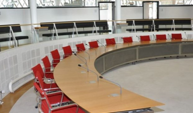 Raadszaal Ouder-Amstel.