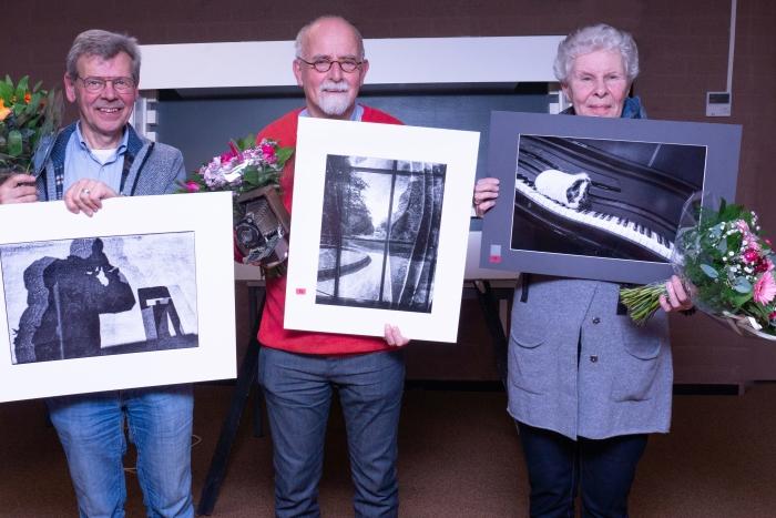 Frans Slagter wint wedstrijd Klaas Haitsma p.r. Flits © BDU media