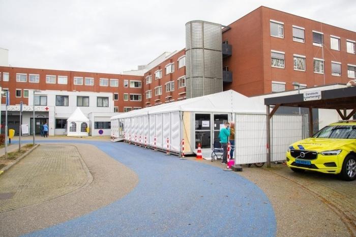 Luchtwegstraat bij Ziekenhuis Gelderse Vallei