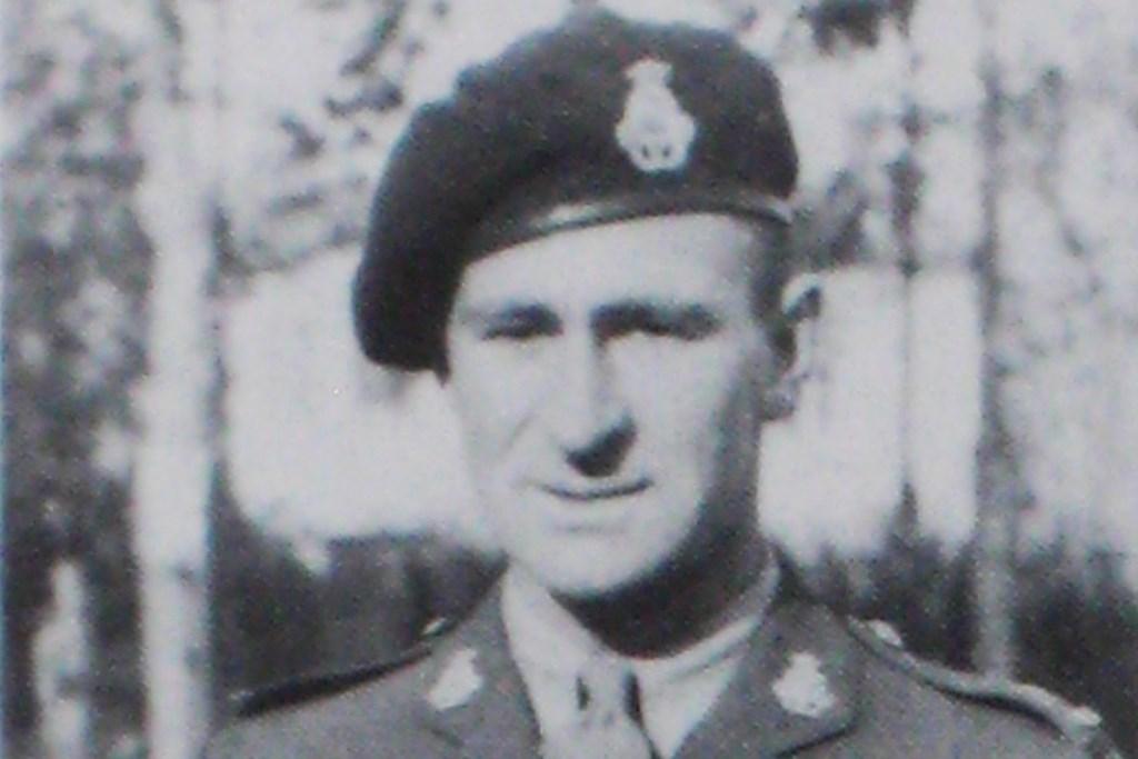 De Canadese majoor Tim Ellis van het B-eskadron van het 8th Hussars Tankbataljon. E. v.d. Weerd © BDU Media
