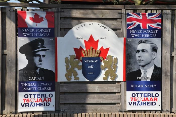 gesneuvelde Engelse en Canadese soldaat Gerhard H. Starke © BDU Media
