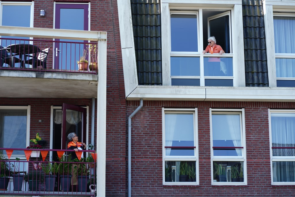 Lekker op het balkon Naomi Heidinga © BDU media