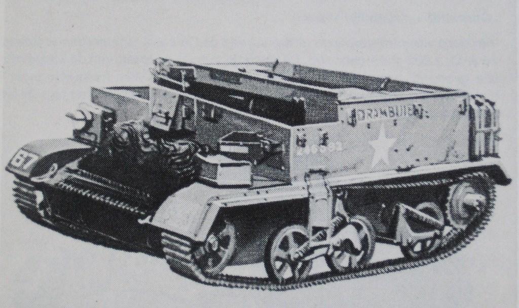 Multifunctioneel rupsvoertuig: (brengun)carrier. Bij infanteriebataljons ingedeeld. Collectie Evert van de Weerd © BDU Media