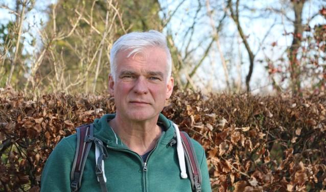 Routeontwikkelaar en schrijver Fokko Bosker.