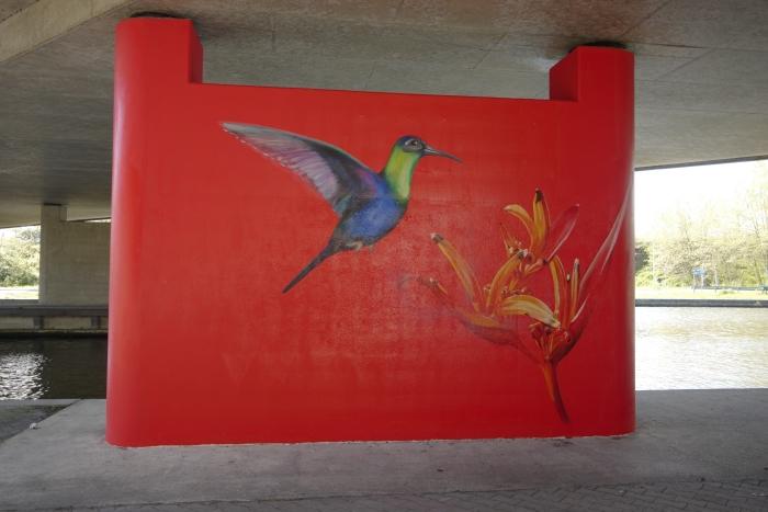 muurschildering Rob Box © BDU media