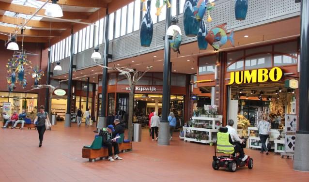 Veilig en comfortabel winkelen in het Piazza Center.