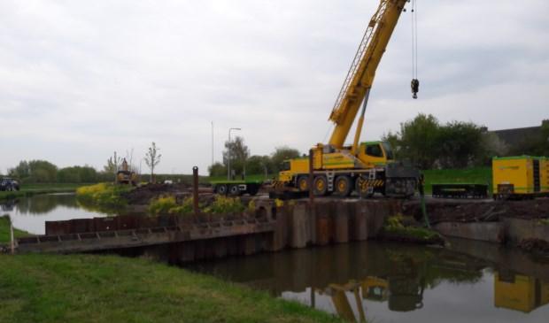 Werkzaamheden voor de nieuwe afslag op de Rondweg: Nieuw Wulven TS © BDU media