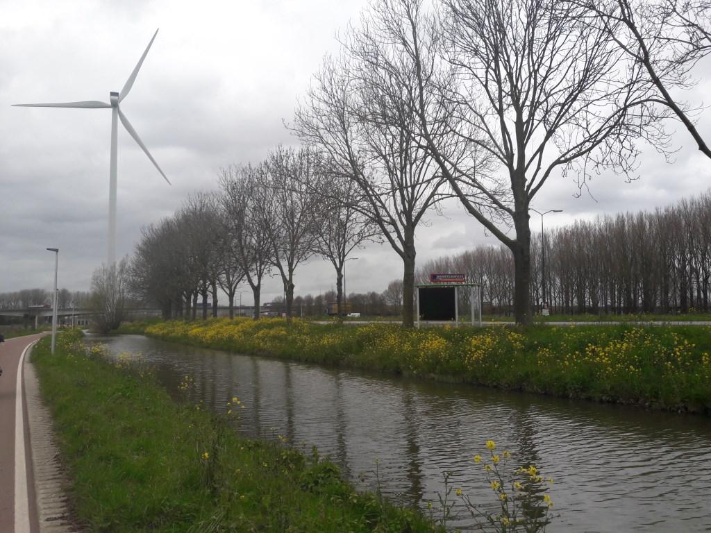 Windmolen bij  De Staart