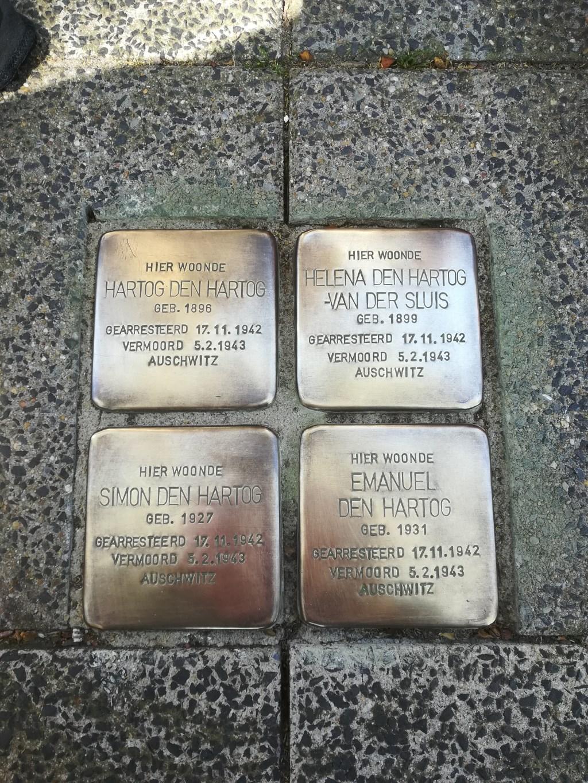 Ook de stenen van de familie Den Hartog liggen er weer netjes bij. Maria Stam © BDU media